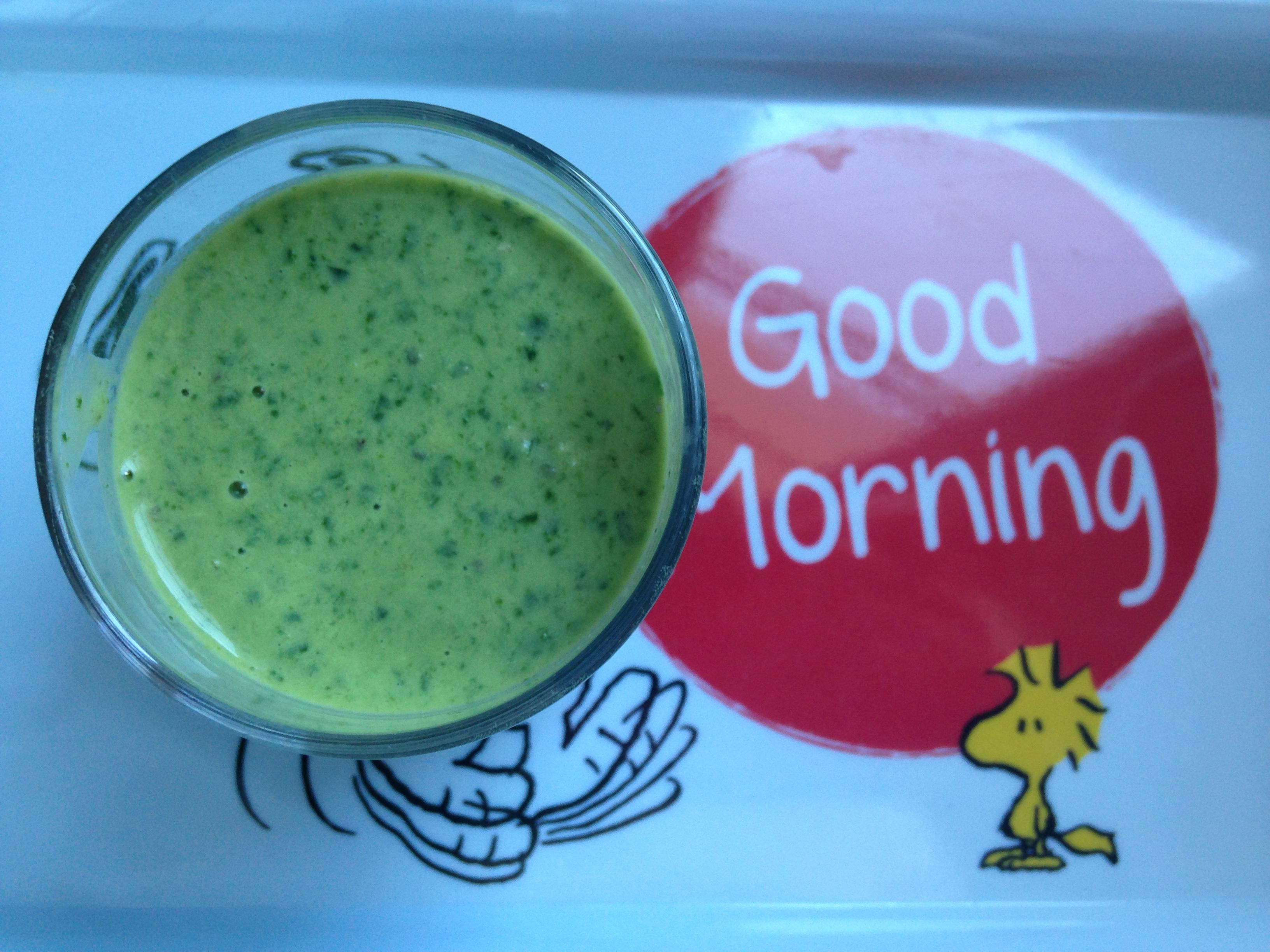 Green smoothie pauvre en FODMAP