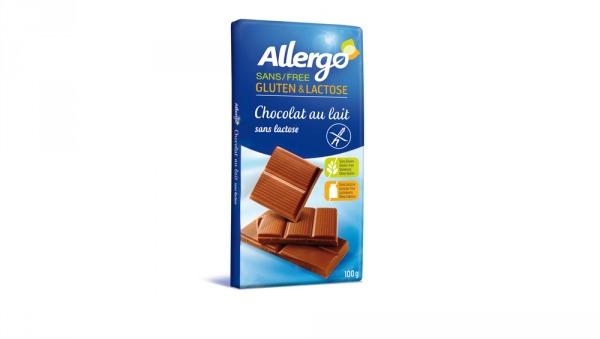 chocolat au lait sans lactose Allergo