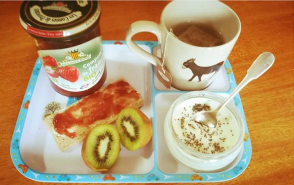 petit déjeuner FODMAP