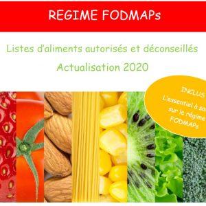 LISTE D'ALIMENTS AUTORISÉS ET DÉCONSEILLÉS 2020