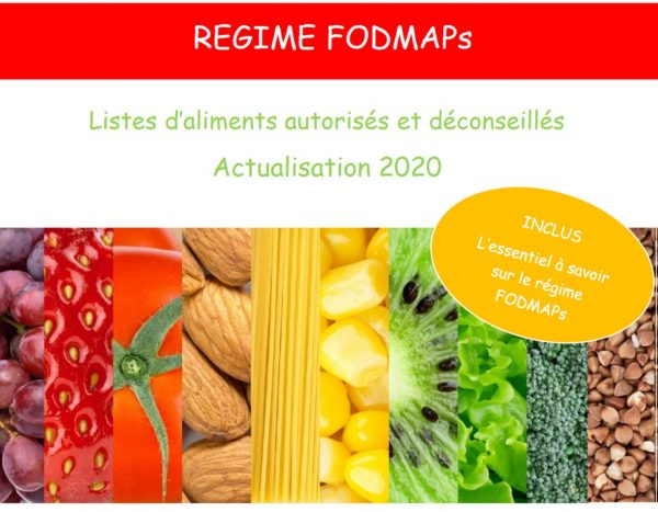 fodmaps liste aliments