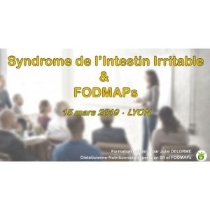 FORMATION PROFESSIONNELLE ONLINE SYNDROME DE L'INTESTIN IRRITABLE & FODMAPS
