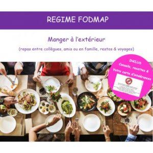 Manger à l'extérieur : restos, invitations et voyages