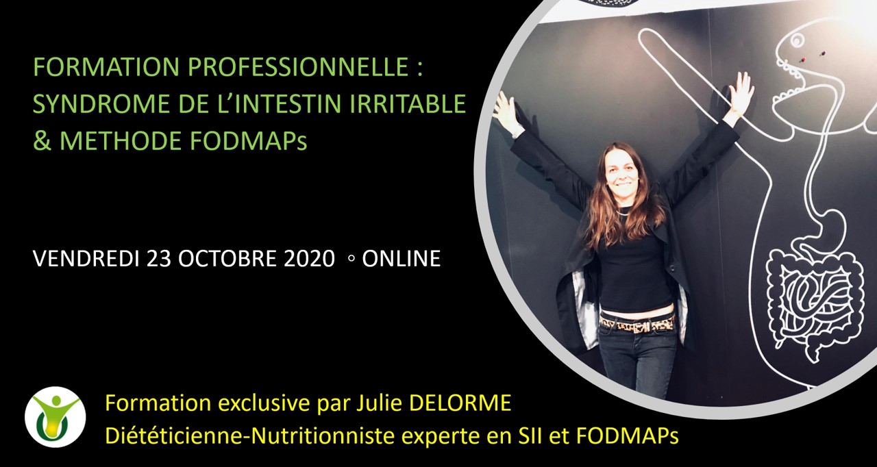 formation professionnelle FODMAPs Syndrome intestin irritable